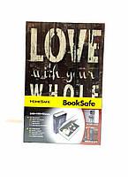 Книга-сейф (24см) Love