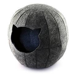 Домик для животных Digitalwool шар с подушкой Серый DW-91-21, КОД: 1103731