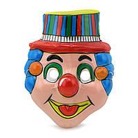 Маска Детская Клоун (уп. 12шт) пластик