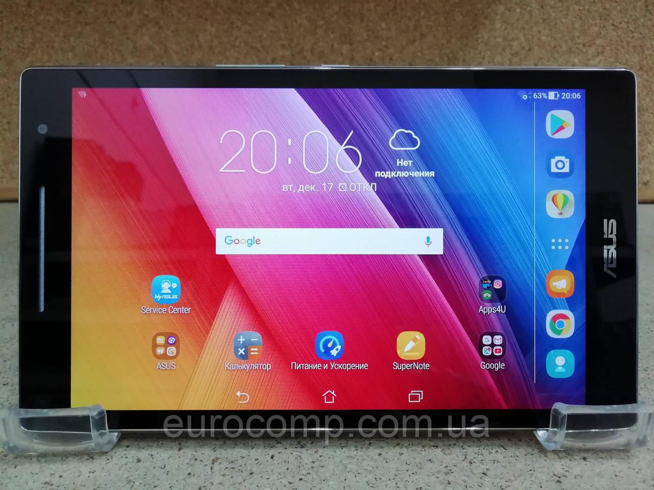Планшет Asus ZenPad 8 Z380M (8'' HD/4 ядра/2GB/16GB/Android 7.0/Grey)