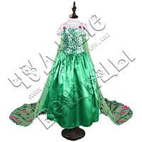 Маскарадное платье Эльзы (зелёное)
