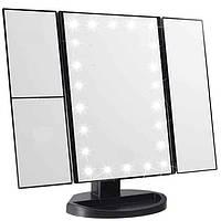 Зеркало для макияжа Superstar Magnifying Mirror 22 Black