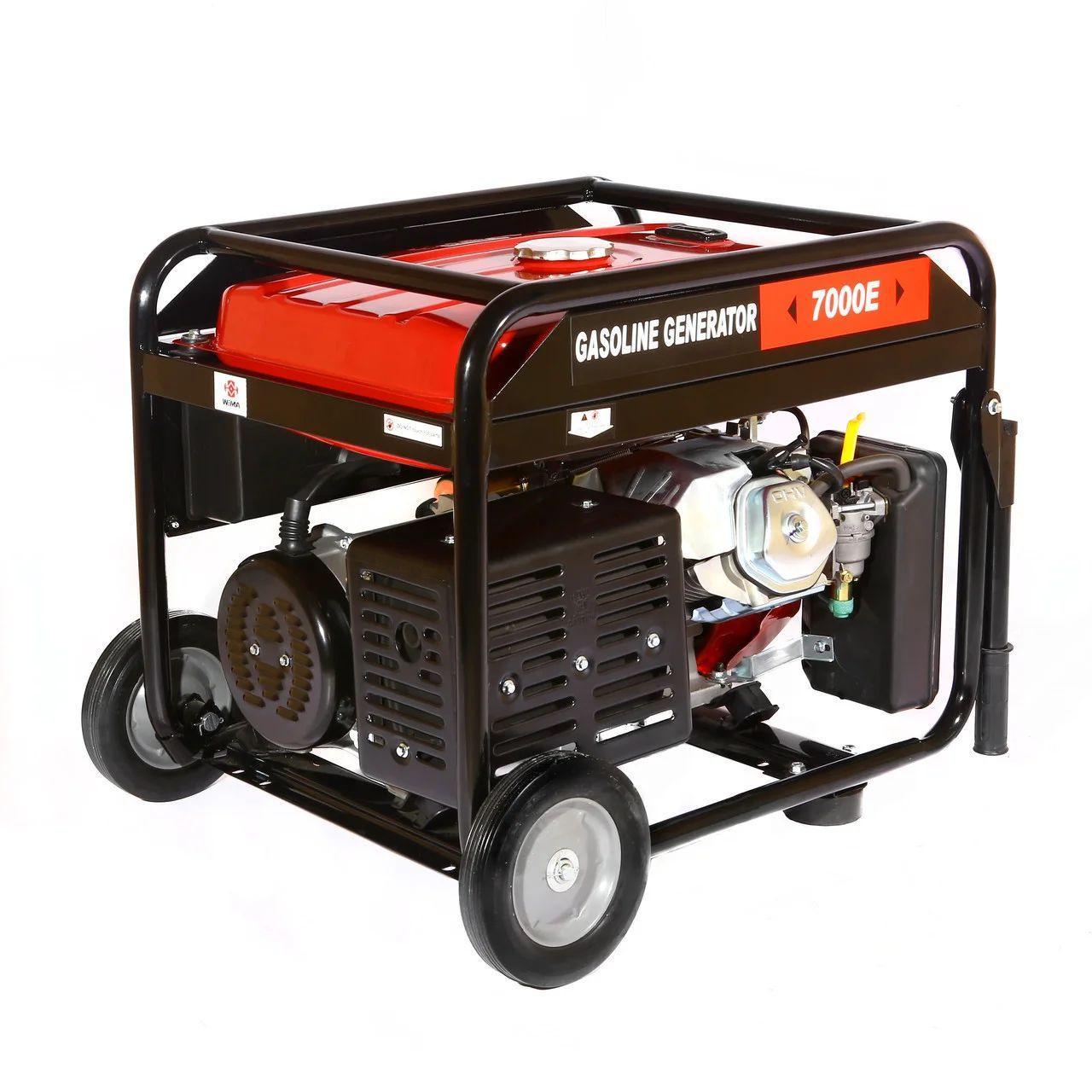 Генератор бензиновый WEIMA WM7000E (7 КВТ, 1 ФАЗА, ЭЛЕКТРОСТАРТЕР) Бесплатная доставка !!!