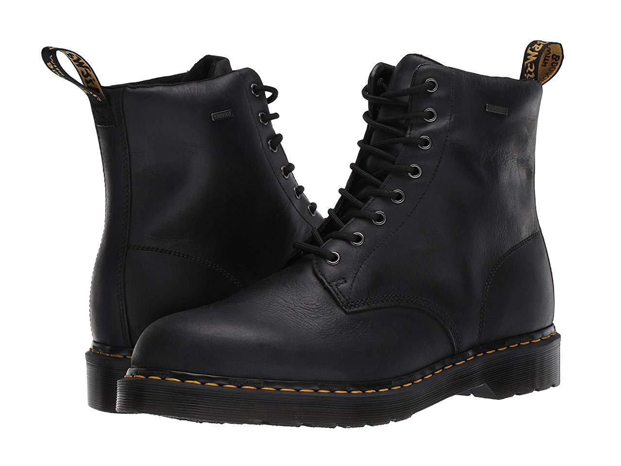 Ботинки/Сапоги Dr. Martens Waterproof 1460 Black Republic Waterproof