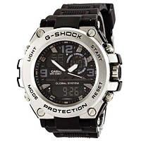 Casio G-Shock GLG-1000 Black-Silver-Black