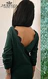 """Женское платье-туника миди свободного кроя с открытой спинкой """"Angelina"""" Распродажа, фото 2"""