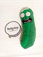 Мягкая игрушка огурчик Рик Rick and Morty Рик и Морти