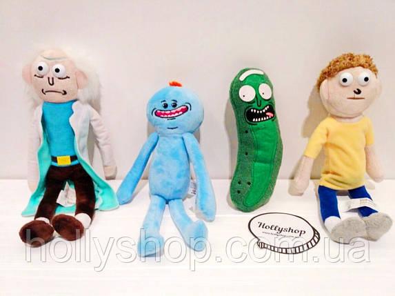 """М'яка іграшка """"Рик і Морті"""" Рік Санчез, фото 2"""