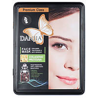 Маска для лица Danjia face mask colageno proteina 016, с белком коллагена, упаковка, фото 1