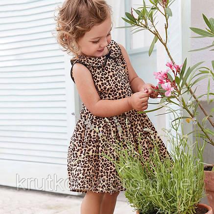 Платье для девочки Леопард Little Maven, фото 2