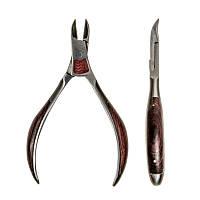 Кусачки маникюрные, с красной ручкой, фото 1