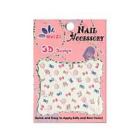 Наклейки для ногтей Mei zi 3d design, фото 1