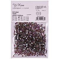 Стразы Yi Kou crystallized №S6 2мм, 1440шт, хамелеон