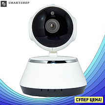 IP камера видеонаблюдения V380-Q6 - Поворотная панорамная сетевая IP-камера WIFI 360 градусов, фото 2