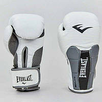 Боксерские перчатки Everlast, натуральная кожа