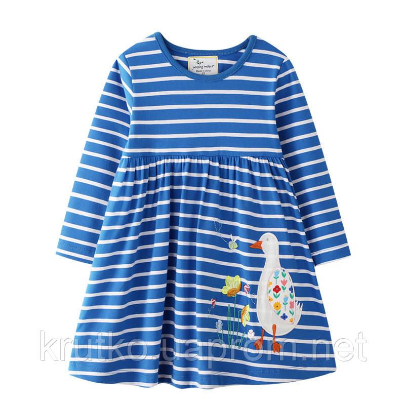 Платье для девочки Цветочная гусыня Jumping Meters