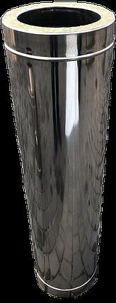 Труба дымоходная L 500 мм нерж/нерж стенка 0,5 мм 160/220, фото 2