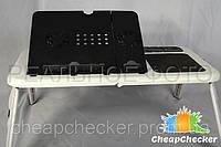 Столик Подставка для Ноутбука E-Table с 2 Кулерами (6,8)