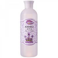 Жидкость для снятия гель лака Kedeli 500мл сирень