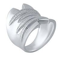 Серебряное кольцо  с фианитами , фото 1