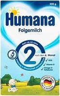 Сухая молочная смесь Humana 2 c пребиотиками, 300 г