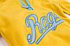 Кофта детская флисовая утеплённая Декор, желтый Berni, фото 4
