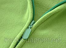 Жилет детский флисовый утеплённый Контур, зелёный Berni, фото 3
