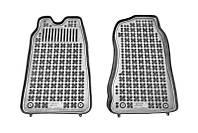 Коврики в салон FORD TRANSIT 01.00-05.06 фургон, черные, полиуретановые (Rezaw-Plast, 200613) - комплект (2 шт.)