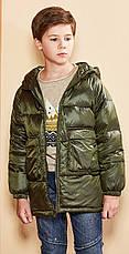 Куртка демисезонная детская Поинт, хаки Berni, фото 2