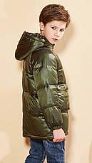 Куртка демисезонная детская Поинт, хаки Berni, фото 3
