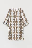 Короткое платье                         H&M                         44                         Белое                         (0745477009)