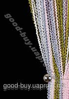 Шторы - нити лапша радуга объемная 9927