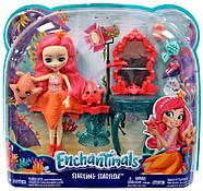 Лялька Энчантималс Морська Зірка Старлінг і морські зірочки Идиль Enchantimals Starling Starfish Dolls, фото 2