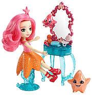 Лялька Энчантималс Морська Зірка Старлінг і морські зірочки Идиль Enchantimals Starling Starfish Dolls, фото 3