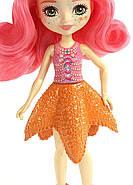 Лялька Энчантималс Морська Зірка Старлінг і морські зірочки Идиль Enchantimals Starling Starfish Dolls, фото 6