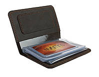 Обложка для водительских документов прав удостоверений SULLIVAN odd2(5) коричневая