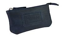 Ключница кожаная сумочка для ключей SULLIVAN k3(5.5) синяя