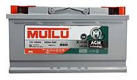 Автомобильный аккумулятор Mutlu AGM (L6): 105 Ач, плюс: справа, 12 В, 950 А - (AGM.L6.105.095.A), 394x175x190 мм