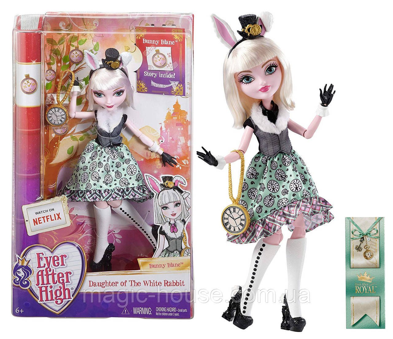 Ever After High Банни Бланк Bunny Blanc Doll ОРИГИНАЛ