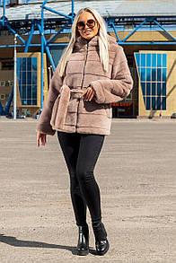 """Шикарна жіноча шуба під шиншилу великих розмірів """"Joliet"""""""