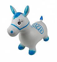 Прыгун-лошадка Серый с голубым