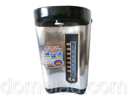 Термопод Чайник Термос Большой Rainberg RB-630 Обьем 8 Л