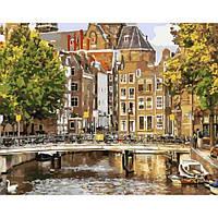 "Картина по номерам. Brushme "" Старый Амстердам "" GX21691"