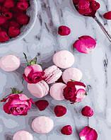 Картина по номерам Макаруны и розы, 40x50 см, премиум упаковка, Brushme (Брашми) (PGX27638)