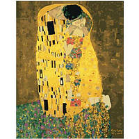 "Картина по номерам. Brushme ""«Поцелуй» Густава Климта"" GX21783"