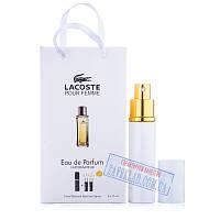 Набор подарочных женских духов Laсoste pour femme 45 мл
