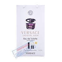 Набор подарочных женских духов Versace crystal noir 45 мл
