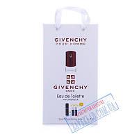 Подарочный набор духов Givenchy pour homme 45 мл