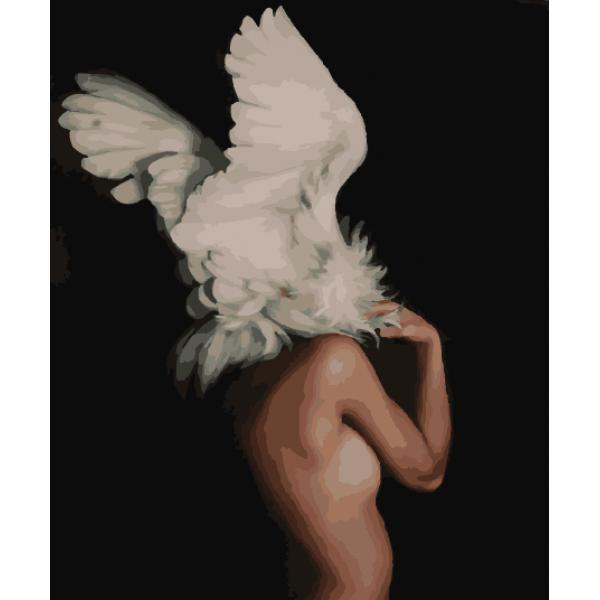 "Картина по номерам. Brushme ""Абстракция в крыльях"" GX29239"
