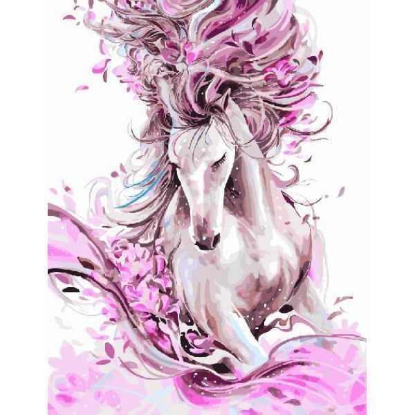 "Картина по номерам. Brushme ""Изящная лошадь"" GX22388"